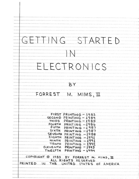 getting-started-in-electronics-3ed-[forrest-m.mims].pdf