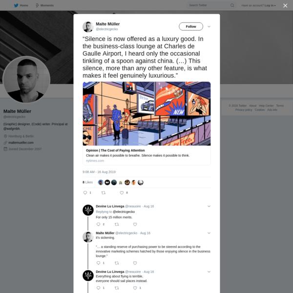 Malte Müller on Twitter