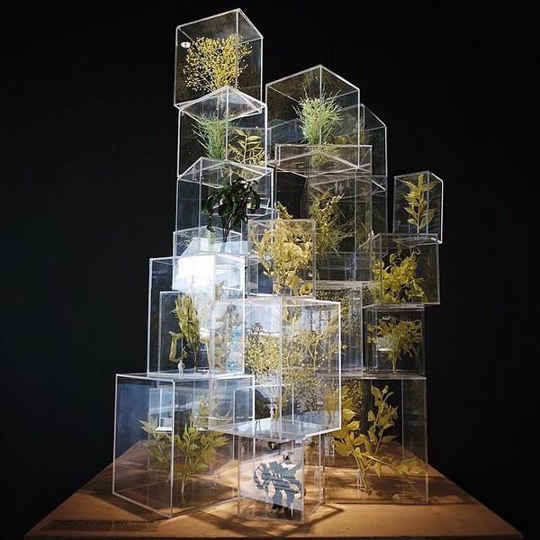 Gallery MA / Nogizaka, Tokyo Sou Fujimoto: Futures of the Future (rp by @urbanscape )