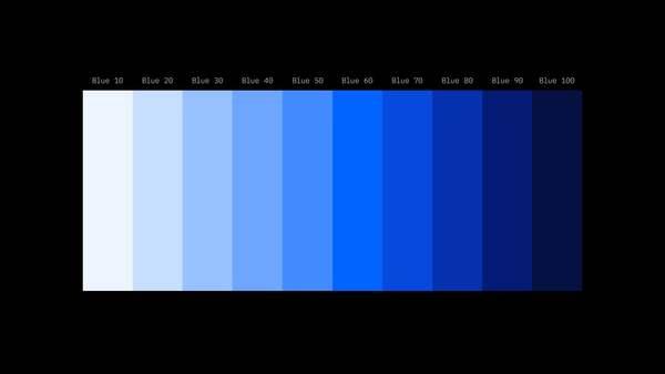 IBM Design Language - Color
