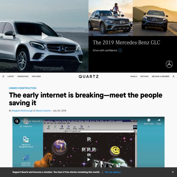 The early internet is breaking- meet the people saving it