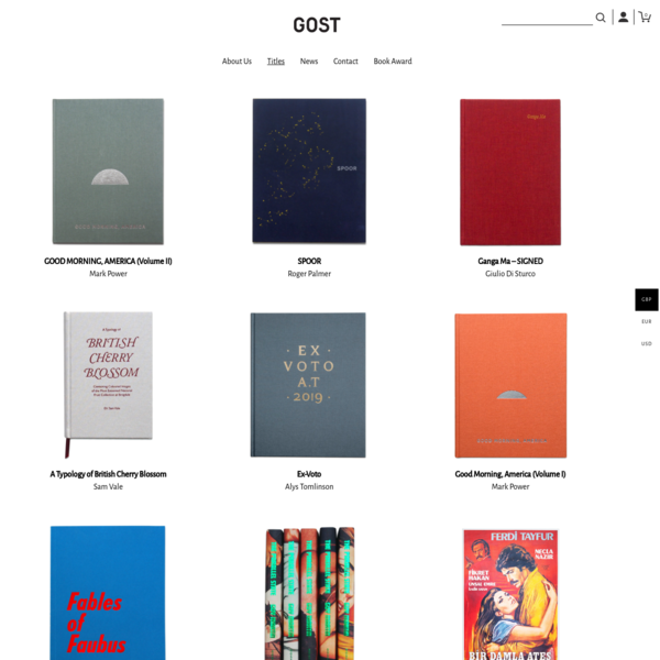 Current Titles - GOST BOOKS