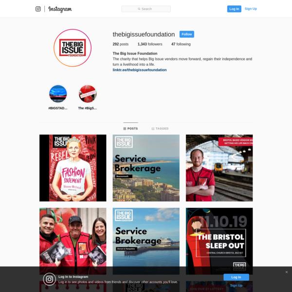 The Big Issue Foundation (@thebigissuefoundation) * Instagram photos and videos