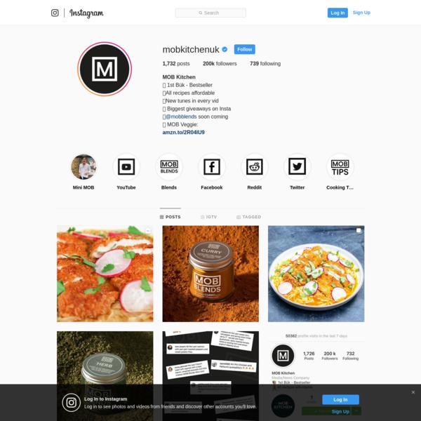 MOB Kitchen (@mobkitchenuk) * Instagram photos and videos