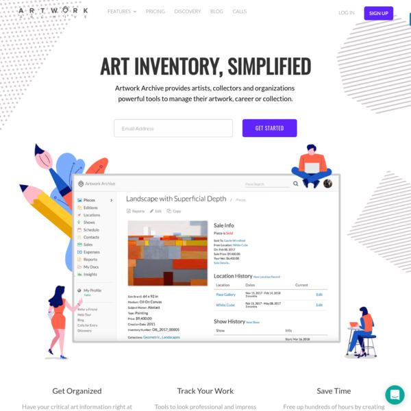 Art Inventory Software - Easy Art Management