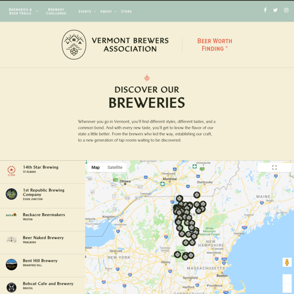 Breweries | Vermont Brewers Association