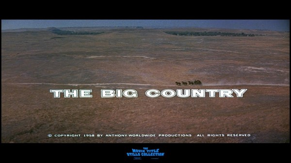 The Big Country (dir. William Wyler, 1958)