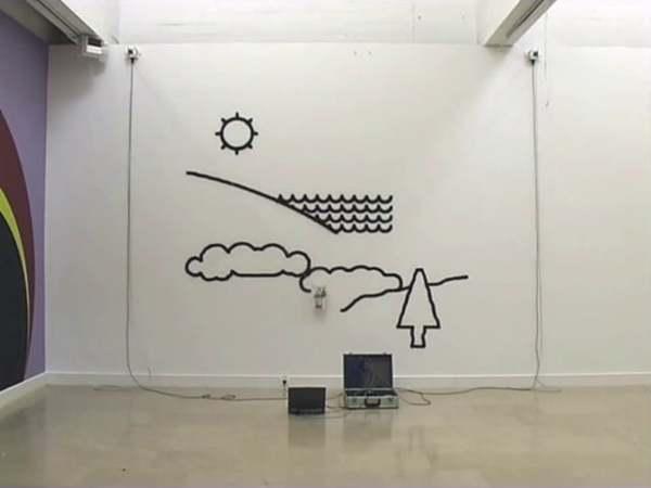 Hektor Draws a Landscape