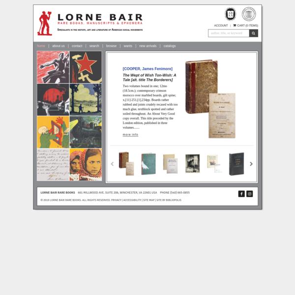 Lorne Bair Rare Books