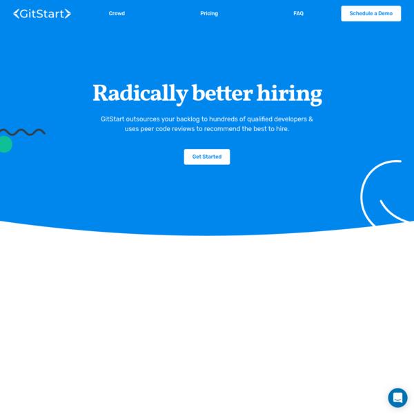 GitStart | Hire better by outsourcing tasks