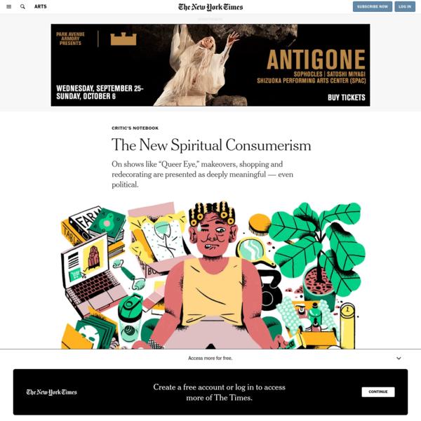 The New Spiritual Consumerism