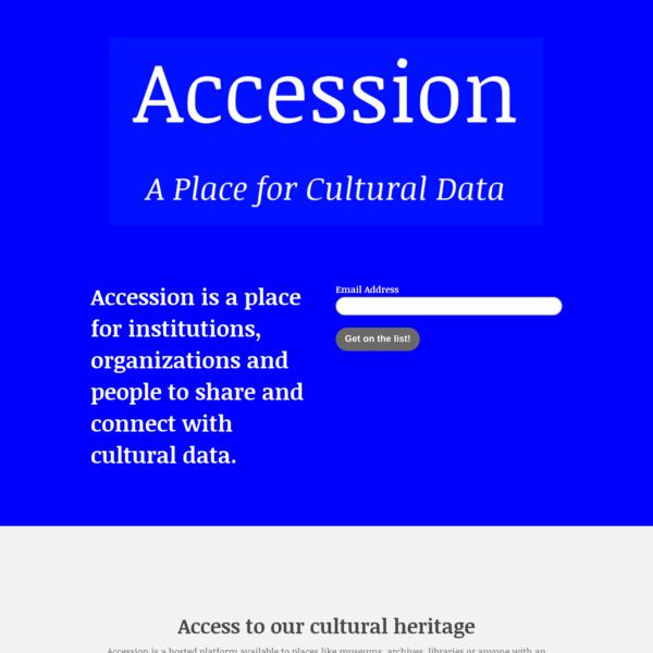Get Accession