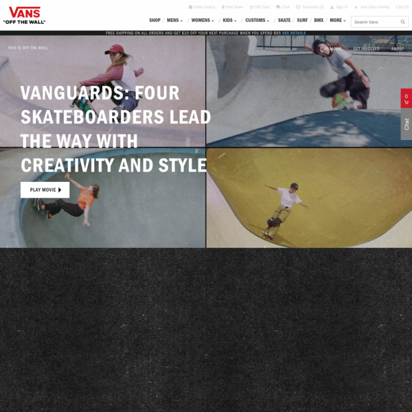 Vans® | Vanguards: Four Skateboarders Lead The Way With Creativity and Style