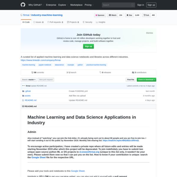 firmai/industry-machine-learning