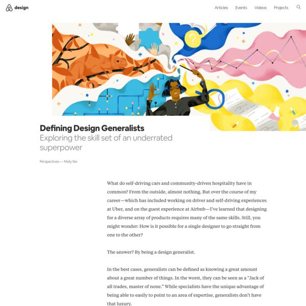 Defining Design Generalists