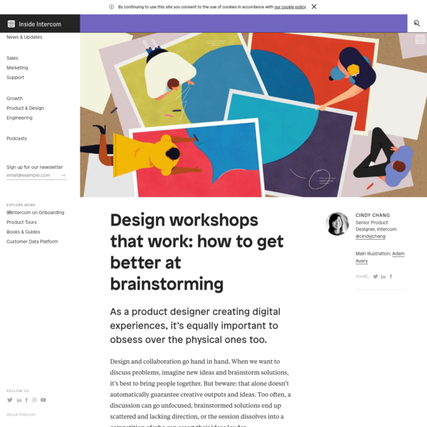 Designing Workshops: How to Structure an Amazing Workshop [Ideas]