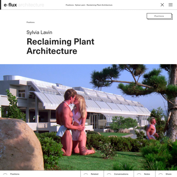Reclaiming Plant Architecture
