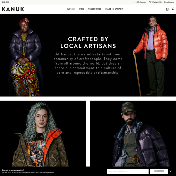 Winter Coats & Accessories - Extreme Conditions | Kanuk