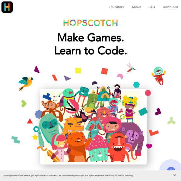 Hopscotch: Real Programming for Kids