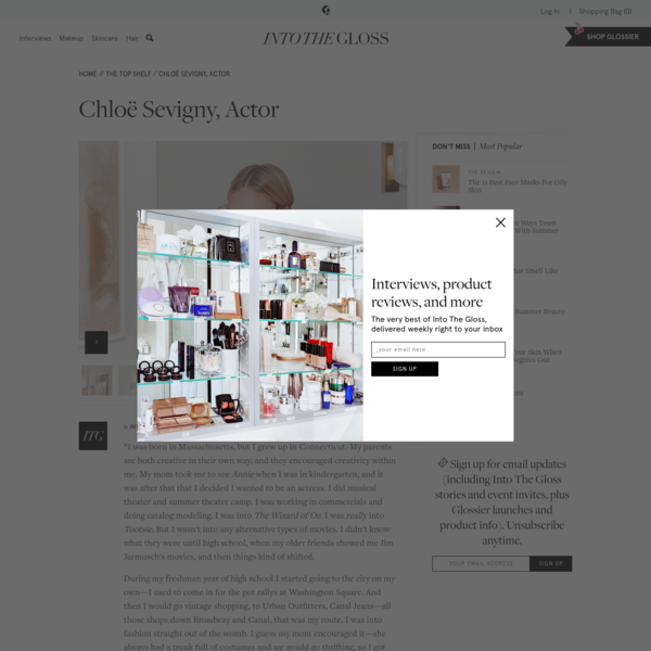 Chloë Sevigny On Her New Perfume, Botox, And Going Gray