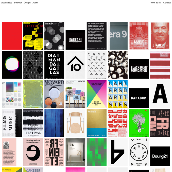 Automatico Studio c/o Demian Conrad - Graphic design consultancy, based in Switzerland
