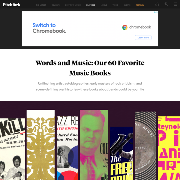 Words and Music: Our 60 Favorite Music Books