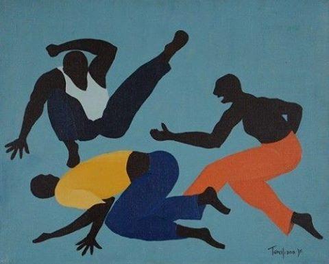 Capoeira, 1974, by Domingo Terciliano