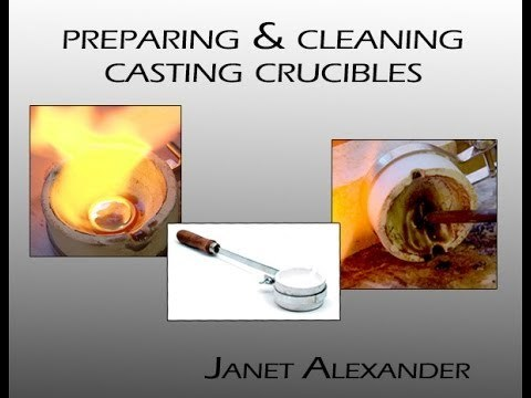 Maintaining Casting Crucibles with Janet E Alexander