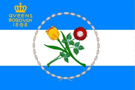 Queens Borough Flag