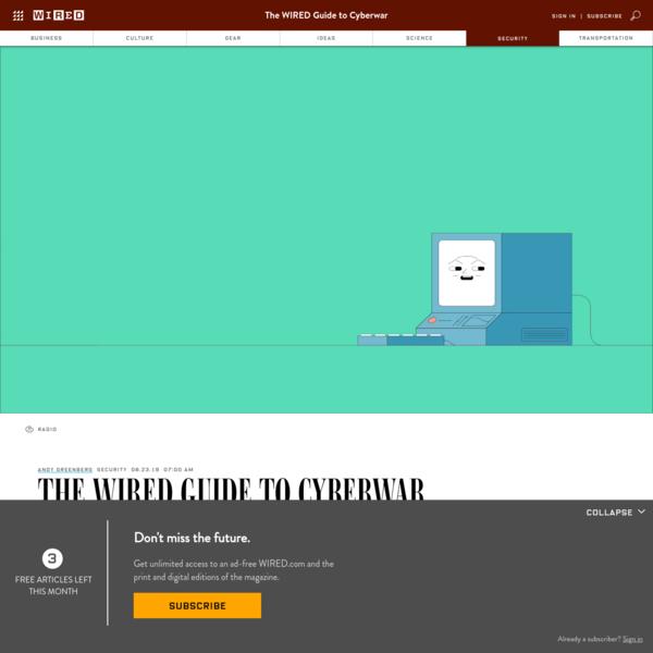 Cyberwar: The Complete Guide