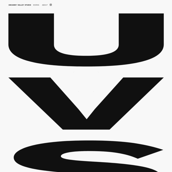 Uncanny Valley Studio website