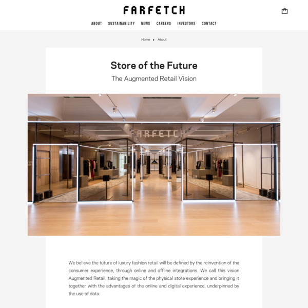 Store Of The Future - About Farfetch