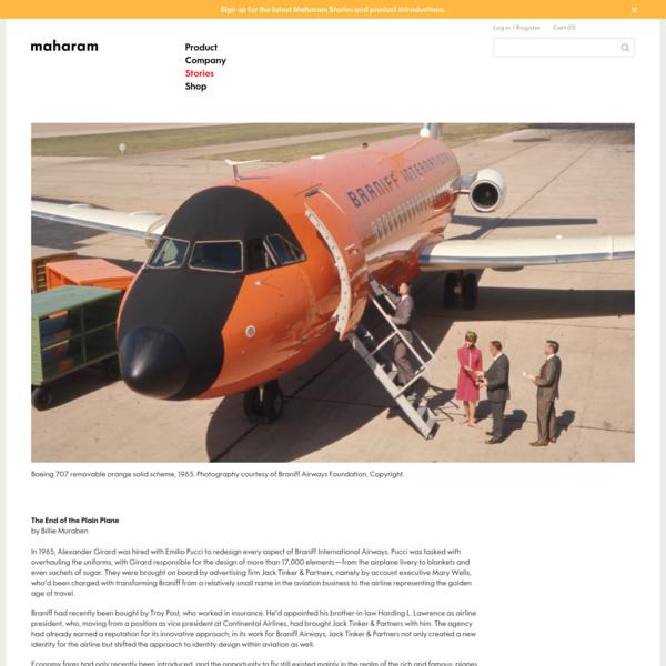 Maharam Stories - The End of the Plain Plane by Billie Muraben