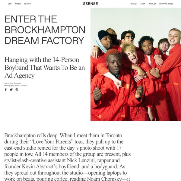 Enter the Brockhampton Dream Factory