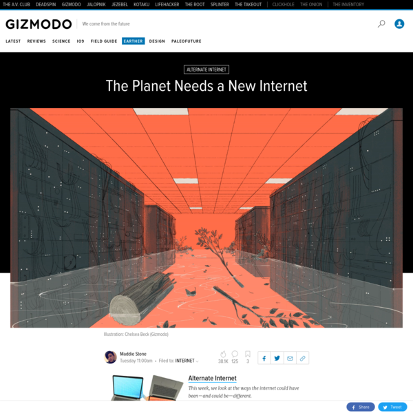 The Planet Needs a New Internet