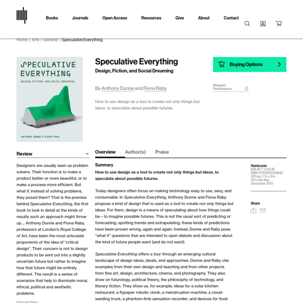 Speculative Everything