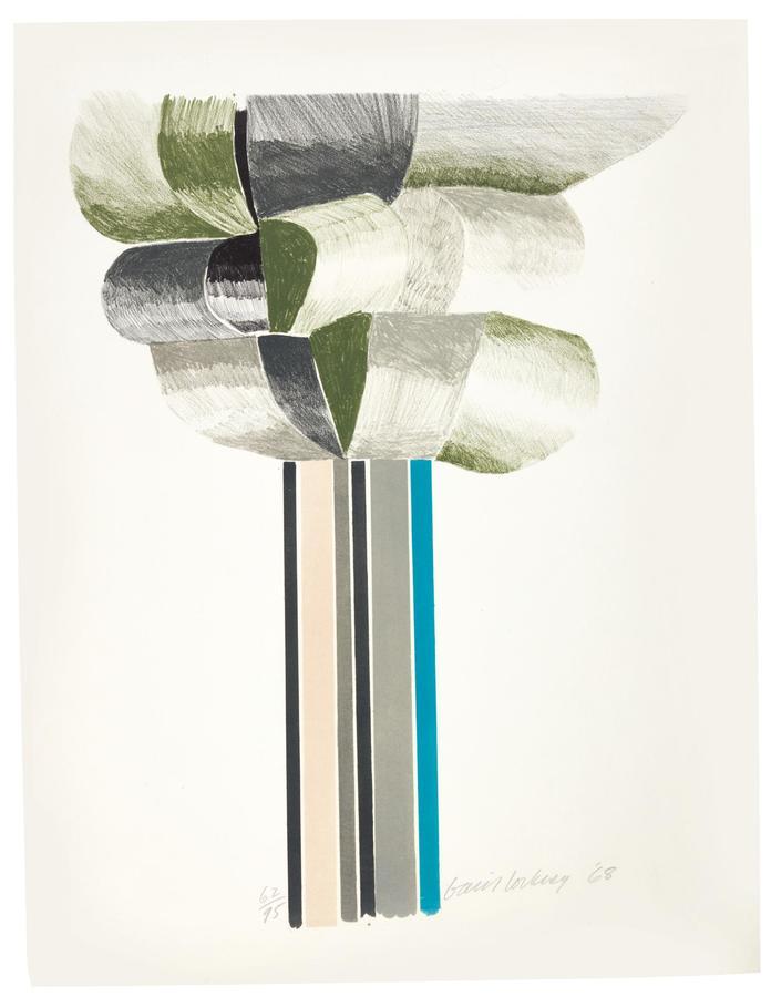 David Hockney, Tree (S. A. C., MCA Tokyon 61), 1968