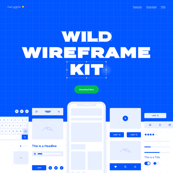 The Marie Kondo of Wireframe Kits