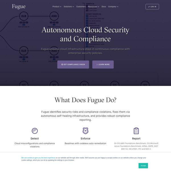 Cloud Infrastructure Security & Compliance | Fugue