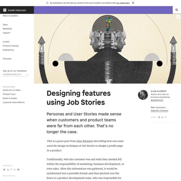 Designing Features Using Job Stories - Inside Intercom