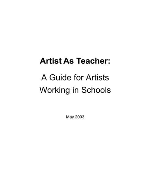 artistasteacherhandbook.pdf
