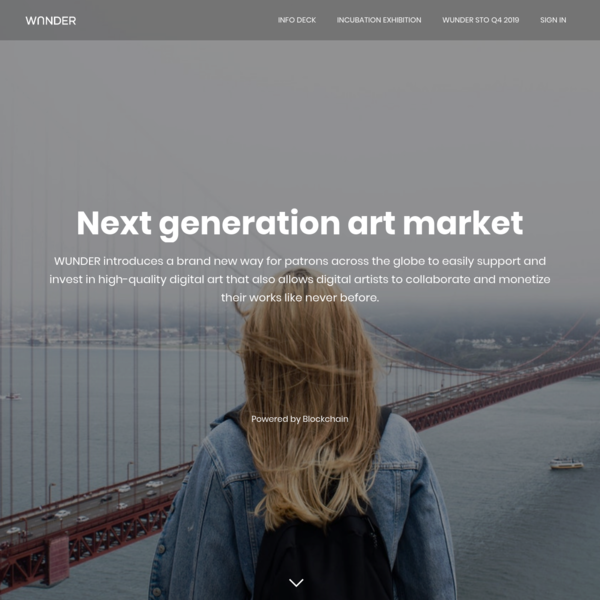 wunder.art - next generation art market