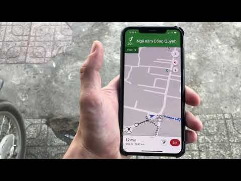 Google maps new AR feature!