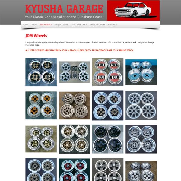 JDM WHEELS | Kyusha Garage