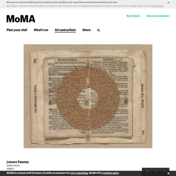Lenore Tawney. Seed Circle. (1967) | MoMA