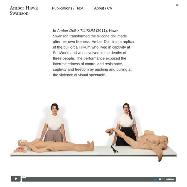 Amber Doll > TILIKUM - Amber Hawk Swanson