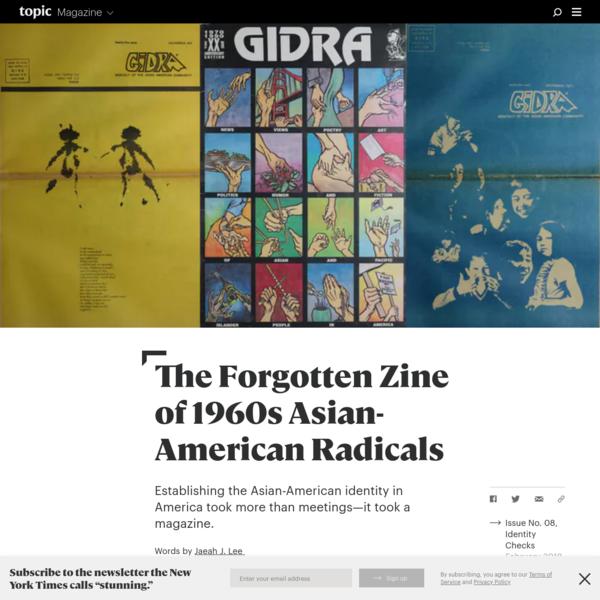 The Forgotten Zine of 1960s Asian-American Radicals