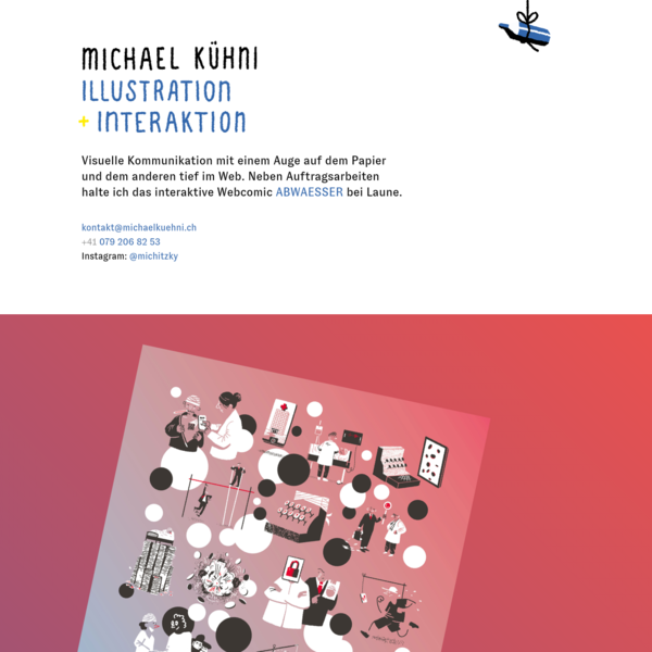 Illustration + Interaktion, Michael Kühni aus Bern