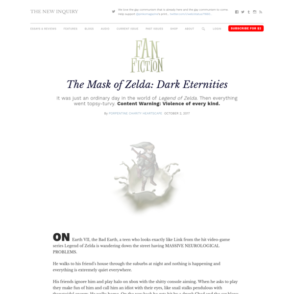 The Mask of Zelda: Dark Eternities