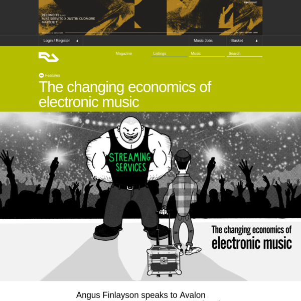 The changing economics of electronic music